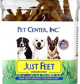 PCI Pet Center PCI CHICKEN FEET 25ct CANISTER