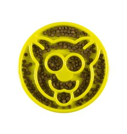 BE ONE BREED Be One Breed Slow Yellow Cat Feeder