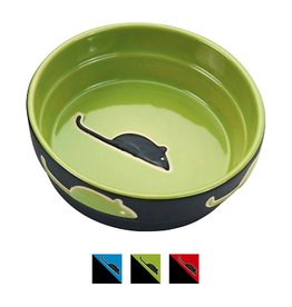 Ethical Ethical Fresco Cat Dish - Green - 5 inch