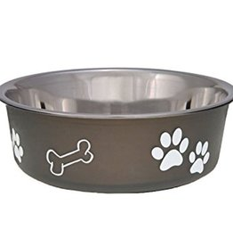 Loving Pets Loving Pets Bella Pet Bowl, Espresso Large