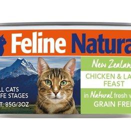 K9 Natural FELINE NATURAL CAT GRAIN FREE CHICKEN & LAMB 3 OZ