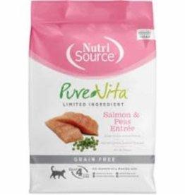 Tuffy's PureVita Grain-Free Entree Dry Cat Food, Salmon 2.2 lb bag