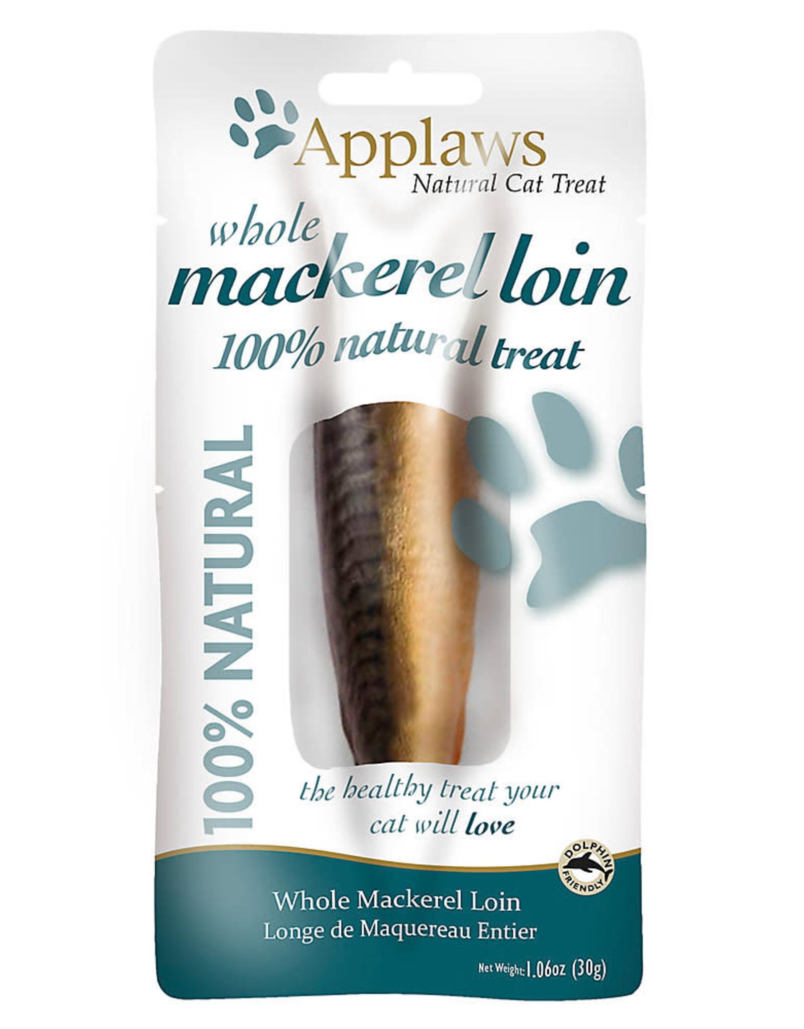Applaws Applaws Whole Mackerel loin Cat Treat 1.06 oz