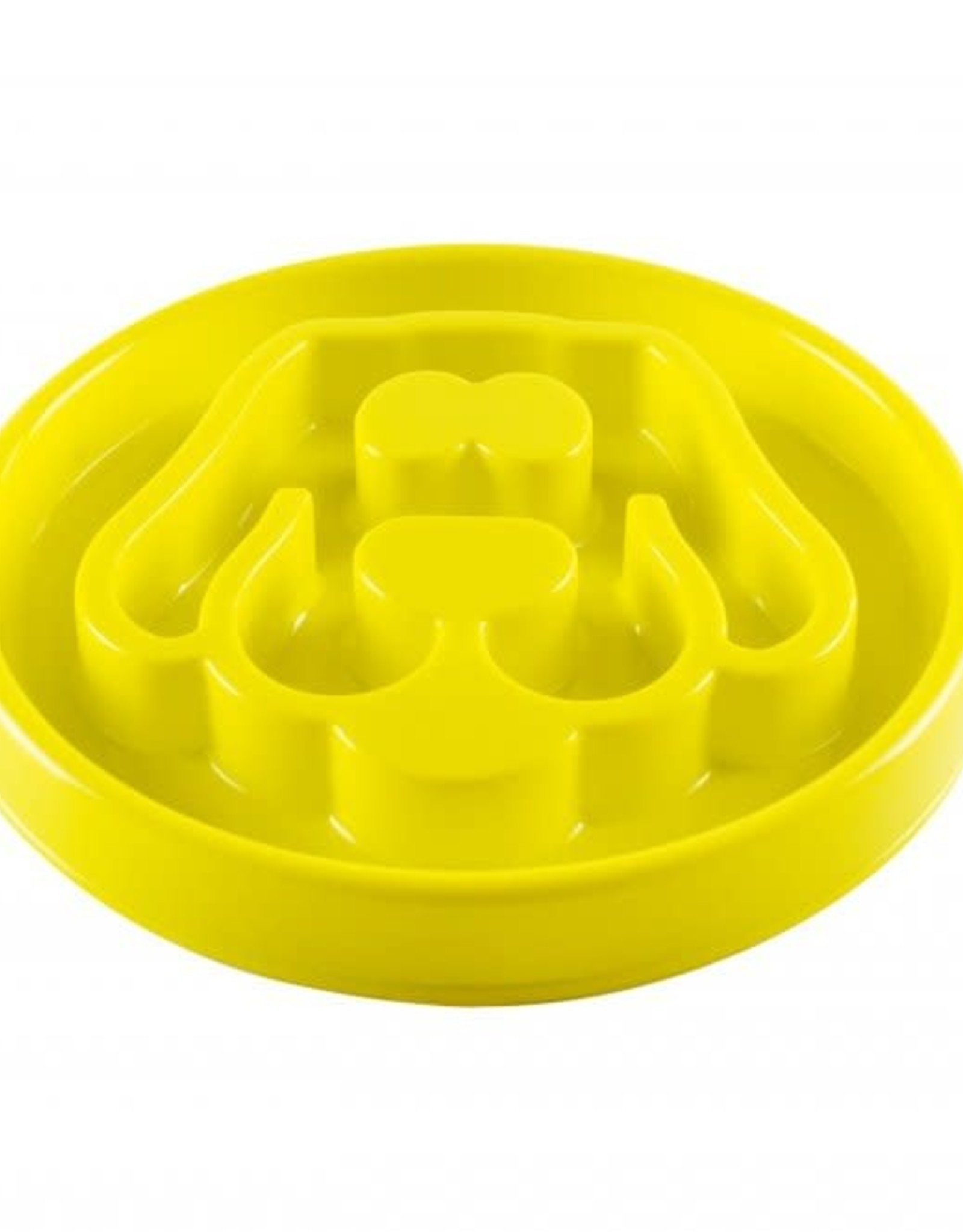 BE ONE BREED Be One Small Yellow Small Dog Slow Feeder Bowl