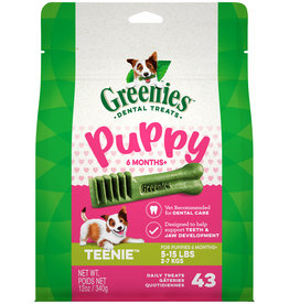 Greenies Greenies 6+ Months Puppy Teenie Dental Dog Treats 12 oz