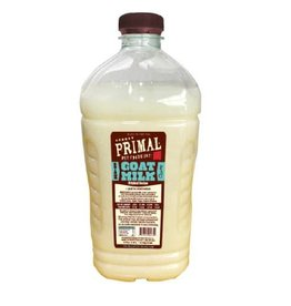 Primal Primal Raw Goat Milk Frozen 1/2 Gallon 64 oz