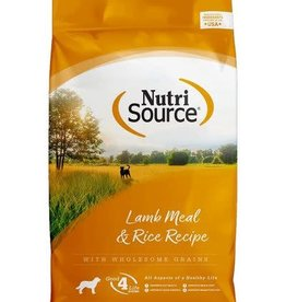 Nutrisource Nutri Source Adult Lamb and Rice Dog Food 5 lb