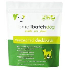 Small Batch Smallbatch Duck Sliders 14 oz Freeze Dried Dog Food