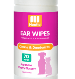 Nootie Nootie Ear Wipes Japanese Cherry Blossom 70 Count