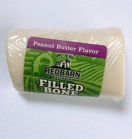 Red Barn Redbarn Small Filled Bone Natural Peanut Butter