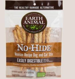 Earth Animal Earth Animal No Hide Dog Chew Sticks, Venison - 10 pack