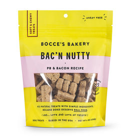 Bocce's Bakery Bocce's Bakery Everyday Soft & Chewy Bacon Nutty 6 oz Bag
