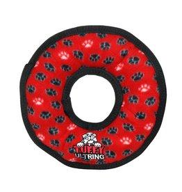 VIP Products Tuffy Tuffys Rumble Ring Chew Toy Red Medium