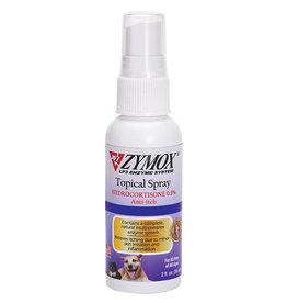 Zymox Spray 2 Oz Bottle with 0.5 Hydrocortisone