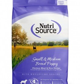 Tuffy's NutriSource Dog Dry Puppy Chicken & Rice Small Breed 15#
