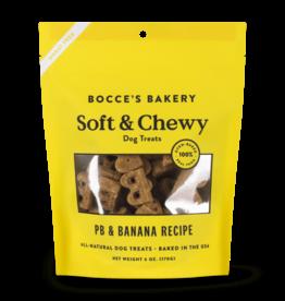 Bocce's Bakery Bocce's Bakery Basic Soft Chewy Peanut Butter Banana 6 oz Bag