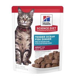 Hill's Science Pet Hill's Science Diet Ocean Fish Adult Wet Cat Food, 2.8 oz.