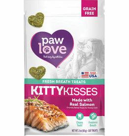 Barkworthies BARKWORTHIES CAT KITTY KISS GRAIN FREE SALMON 2OZ