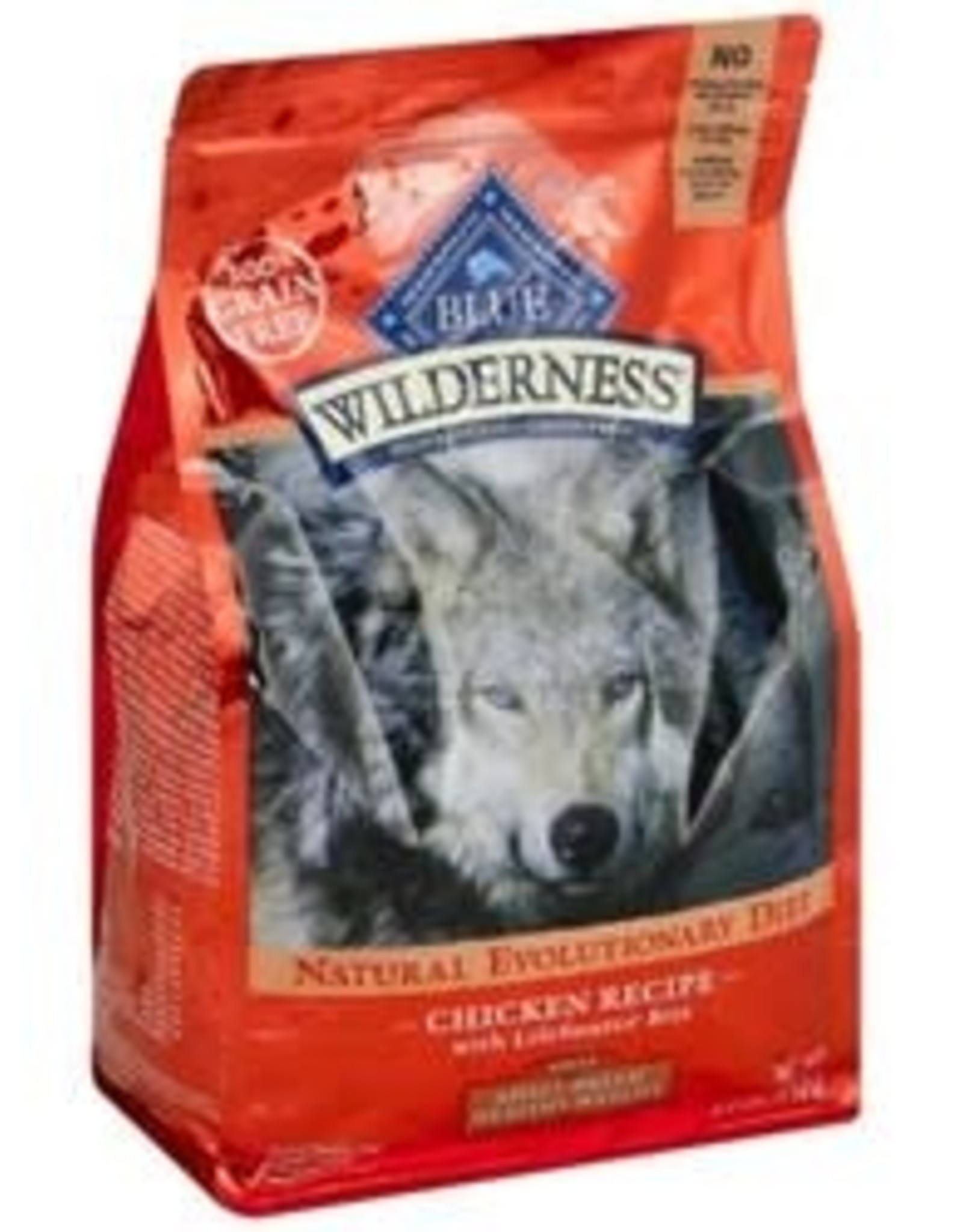 Blue Buffalo Blue Buffalo  Wilderness Food for Dogs, Natural, Adult, Small Breed Healthy Weight, Chicken Recipe - 4.5 lb