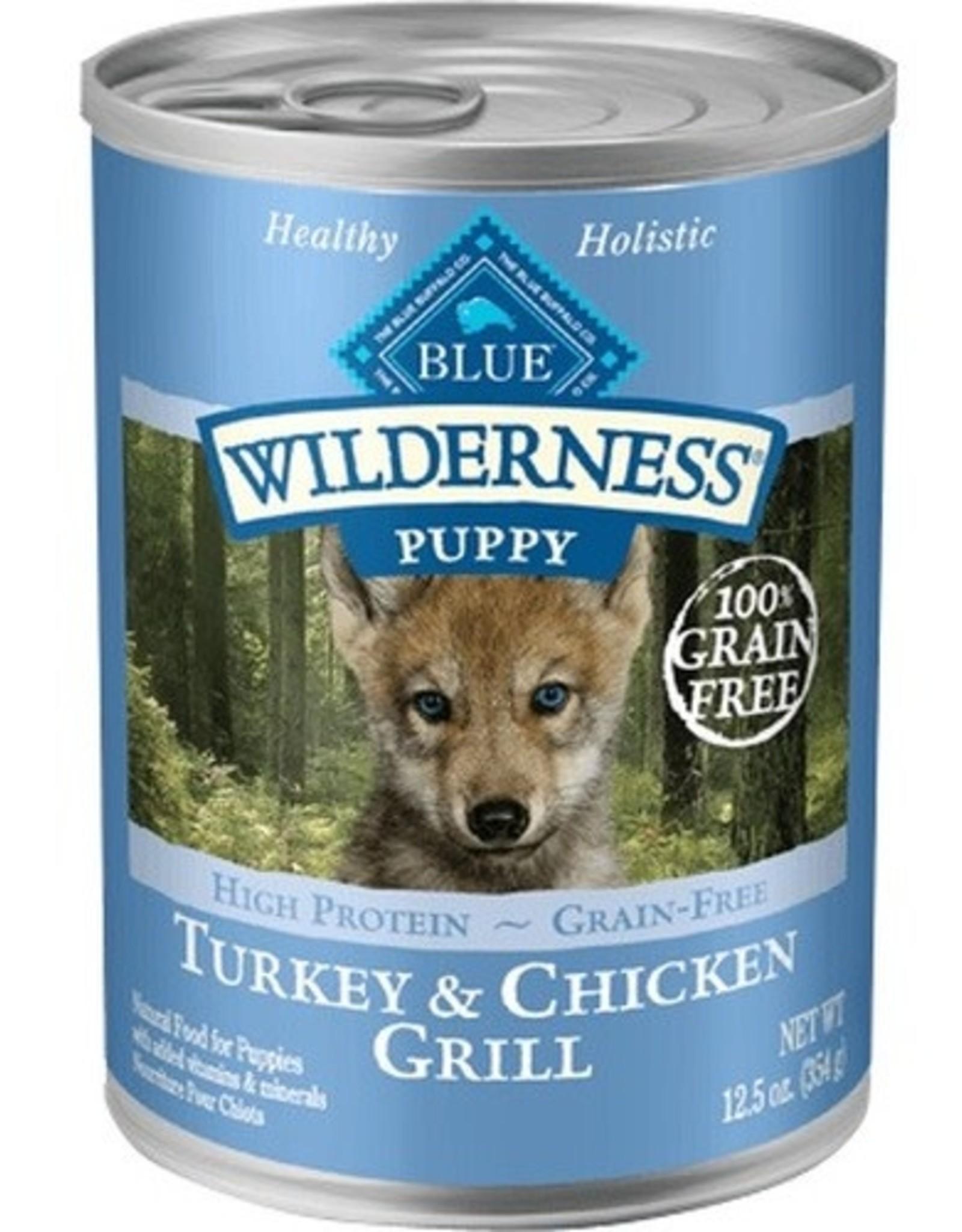Blue Buffalo BLUE BUFFALO DOG WILDERNESS PUPPY TURKEY CHICKEN 12.5oz