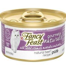NESTLE PURINA PETCARE COMPANY FANCY FEAST CAT CAN BEEF PATE, 3 oz