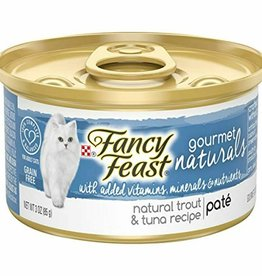 NESTLE PURINA PETCARE COMPANY FANCY FEAST CAT CAN TROUT/TUNA 3 oz