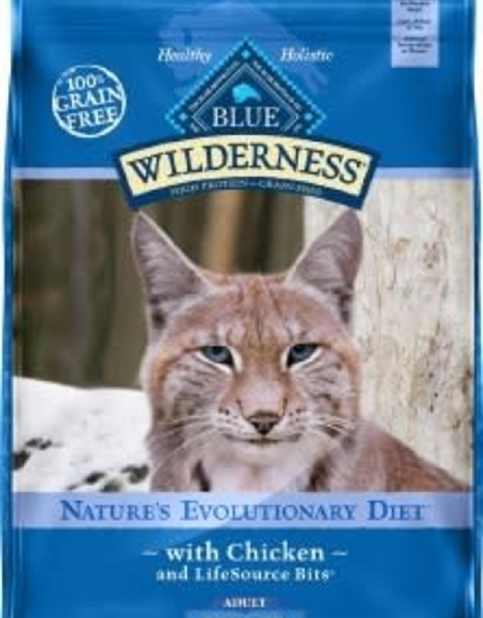 Blue Buffalo BLUE BUFFALO CAT WILDERNESS ADULT INDOOR CHICKEN 11LB GRAIN FREE