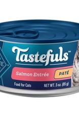 Blue Buffalo BLUE BUFFALO CAT TASTEFULS PATE INDOOR SALMON ENTREE 3oz