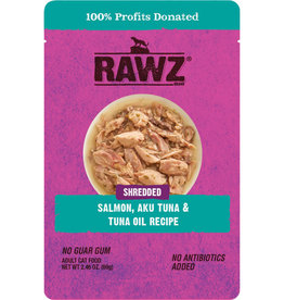 Rawz RAWZ SALMON TUNA/TUNA OIL CAT 2.46 OZ