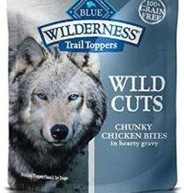 Blue Buffalo Blue Buffalo Wilderness Wild Cuts Trail Toppers Chunky Chicken Bites 24 / 3 oz