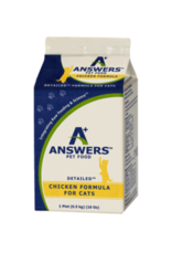 Answers ANSWERS CAT FROZEN DETAILED CHICKEN 1LB