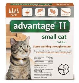 BAYER HEALTHCARE LLC ADVANTAGE II CAT SMALL ORANGE 2-PACK