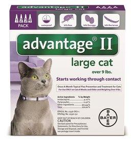 BAYER HEALTHCARE LLC ADVANTAGE II CAT LARGE PURPLE 2-PACK