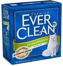 EVERCLEAN EVER CLEAN UNSCENTED 25LB EXTRA STRENGTH LITTER