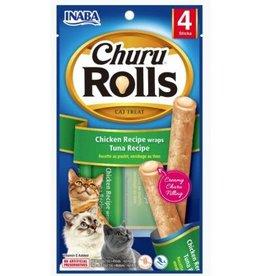 Inaba Inaba Churu Rolls Cat Treat Chicken Recipe Wraps Tuna Recipe