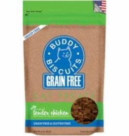Cloud Star Cloud Star Buddy Biscuit Cat Grain Free Soft & Chewy Chicken 3 oz
