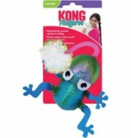 Kong Kong Flingaroo Frog Catnip Cat Toy