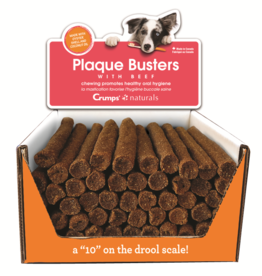 """CRUMP NATURAL PLAQ BUSTER BEEF 7"""" LOOSE"""