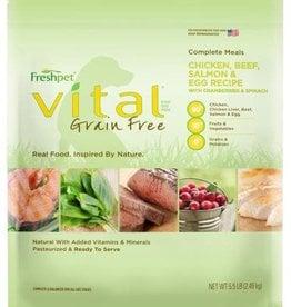 FRESHPET (DELI FRESH) Freshpet Vital COMPLETE MEAL DOG 5.5#