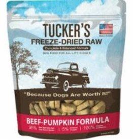 Tucker's TUCKER'S DOG FREEZE DRIED BEEF PUMPKIN 14oz/8