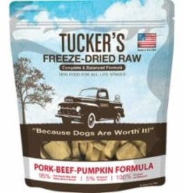 Tucker's TUCKER'S FRZ DRD PRK-BEEF-PMPK, 14 OZ. BAG (8/CS)