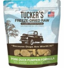 Tucker's TUCKER'S DOG FREEZE DRIED PORK DUCK PUMPKIN 14oz/8