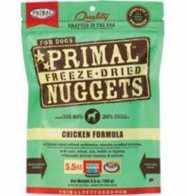 Primal Primal Freeze Dried Chicken Formula for Dogs - 5.5 oz bag