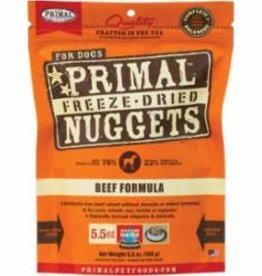 Primal Primal Freeze Dried Formula for Dogs, Beef - 5.5 oz bag