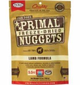 Primal Primal Freeze Dried Canine Lamb Formula, 5.5 oz bag