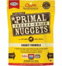 Primal Primal Freeze-Dried Nuggets Rabbit Formula Dog Food 5.5oz