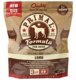 Primal PRIMAL DOG LAMB NUGGETS 3LB/8 FROZEN