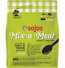 Sojo's Sojos Dog Food Mix-a-Meal Pre Mix Fruit & Veg 8#