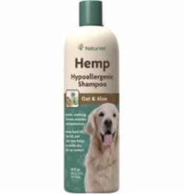 NaturVet NATURVET DOG HEMP SHAMPOO HYPOALLERGENIC 16OZ