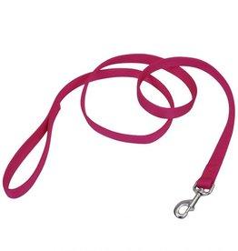 "Coastal Coastal® Double-Ply Dog Leash, Pink Flamingo, 1"" x 04'"